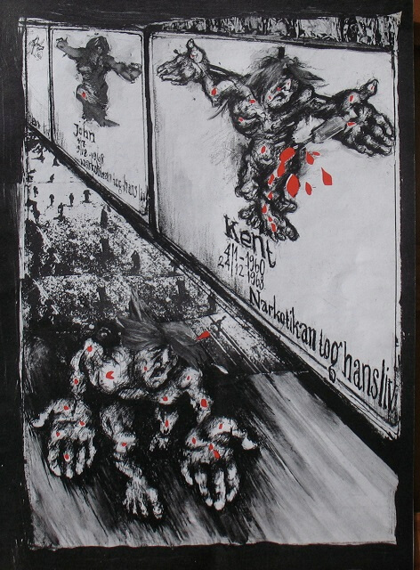 Lena Svedberg reagerar på en affischkampanj i Stockholm, Puss nr 11