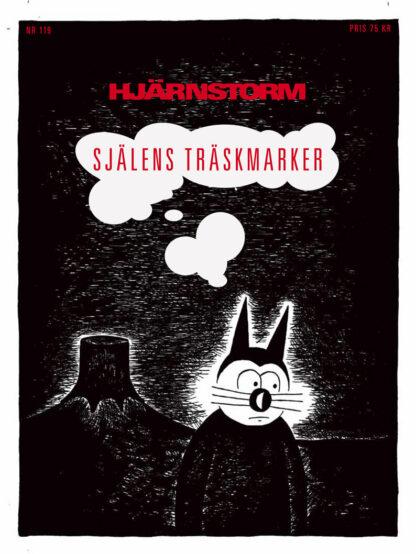 Omslag serietidningsillustration Klas Katt